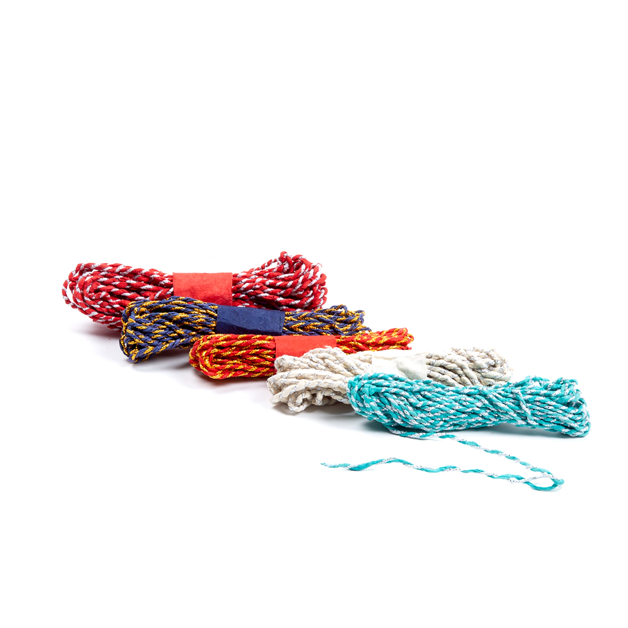 Woven Twine, Pack of 5 Assorted Colours