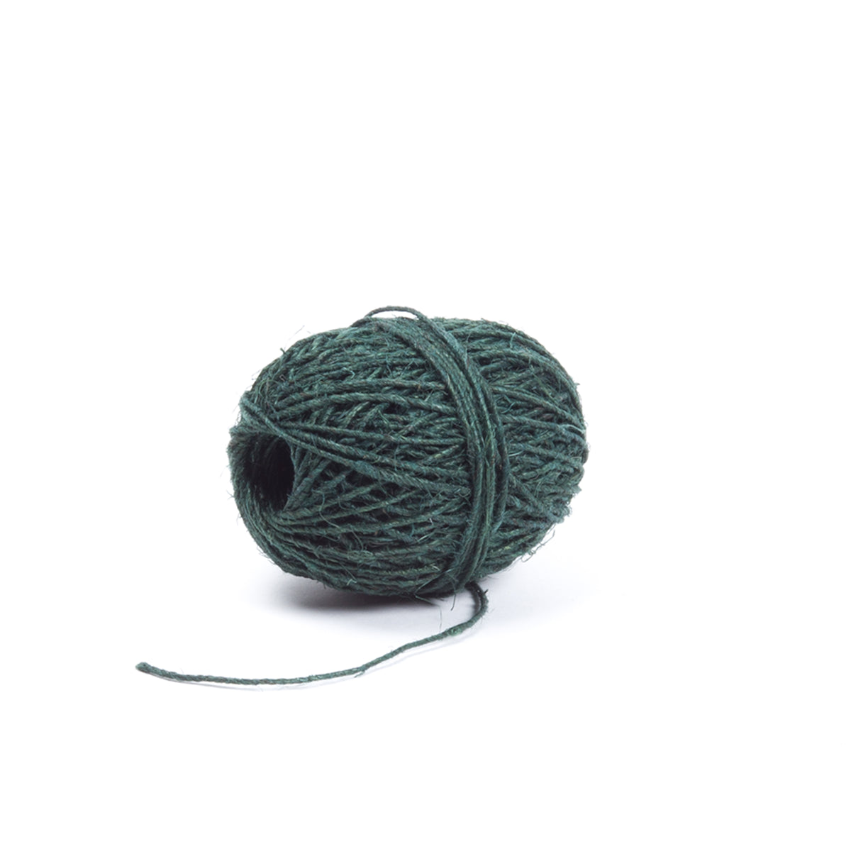 Dark Green Hemp Twine, 50m