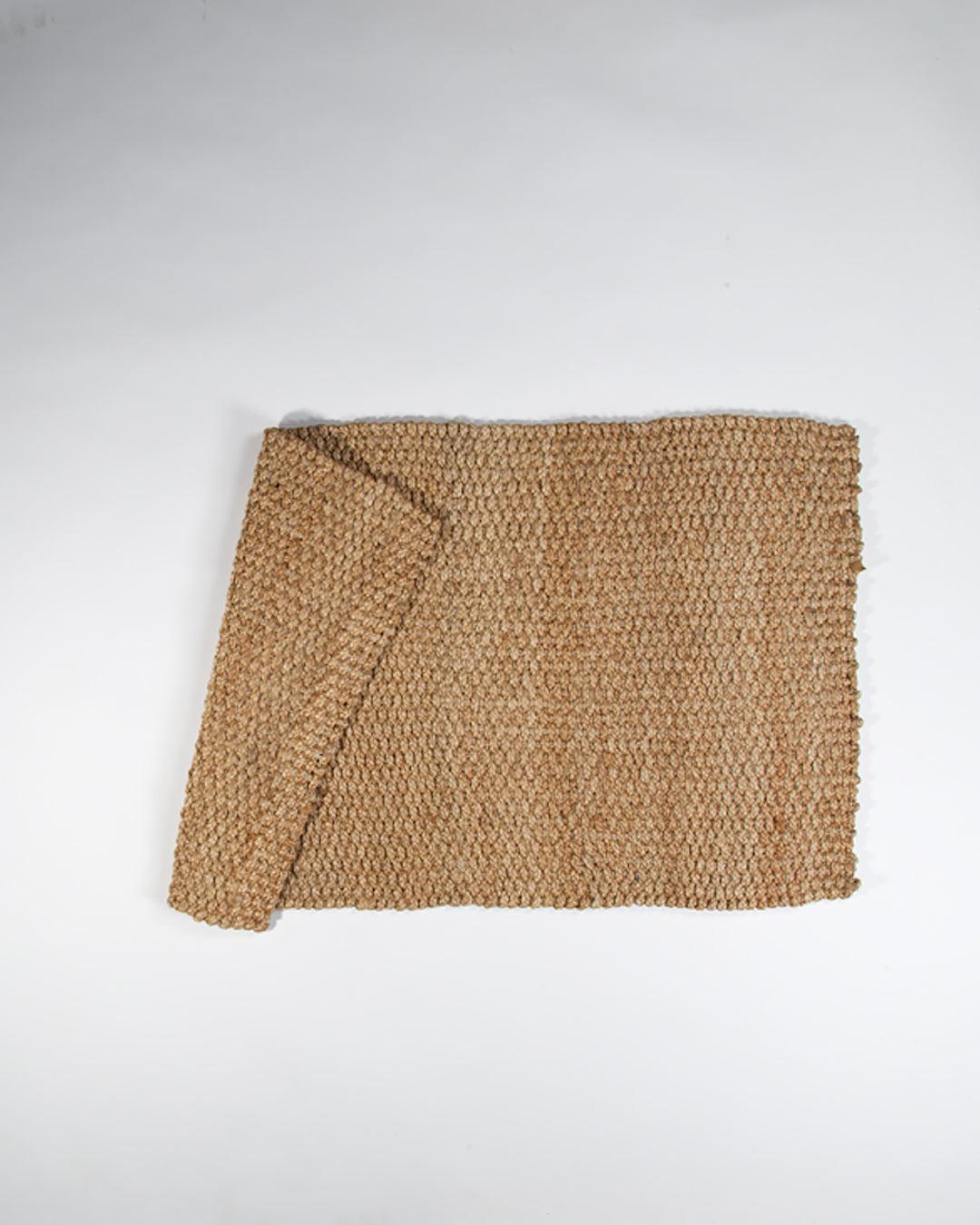 Jute Entry Mat, Natural, Thick Weave, 60x100cm