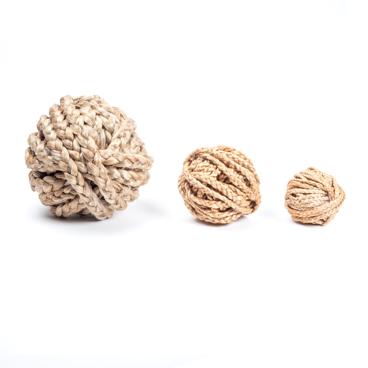 Braided Jute, 10m Bundle, W=0.5cm