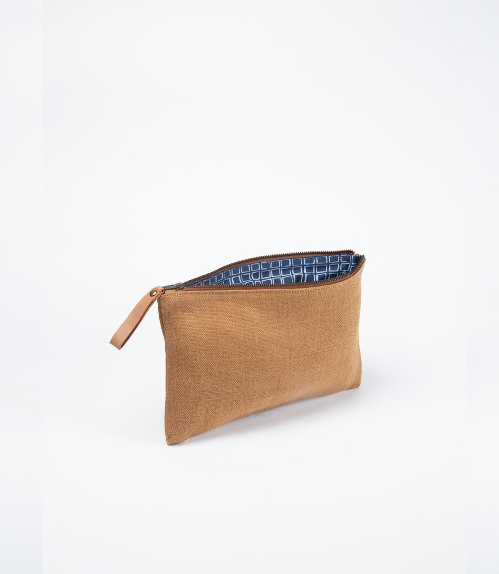 Woven Waxed Jute - Storage or Tablet Sleeve