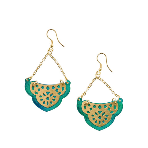 Jaladhi Earrings - Sea Treasure