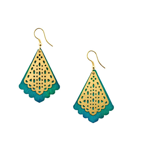 Jaladhi Earrings - Water Goddess