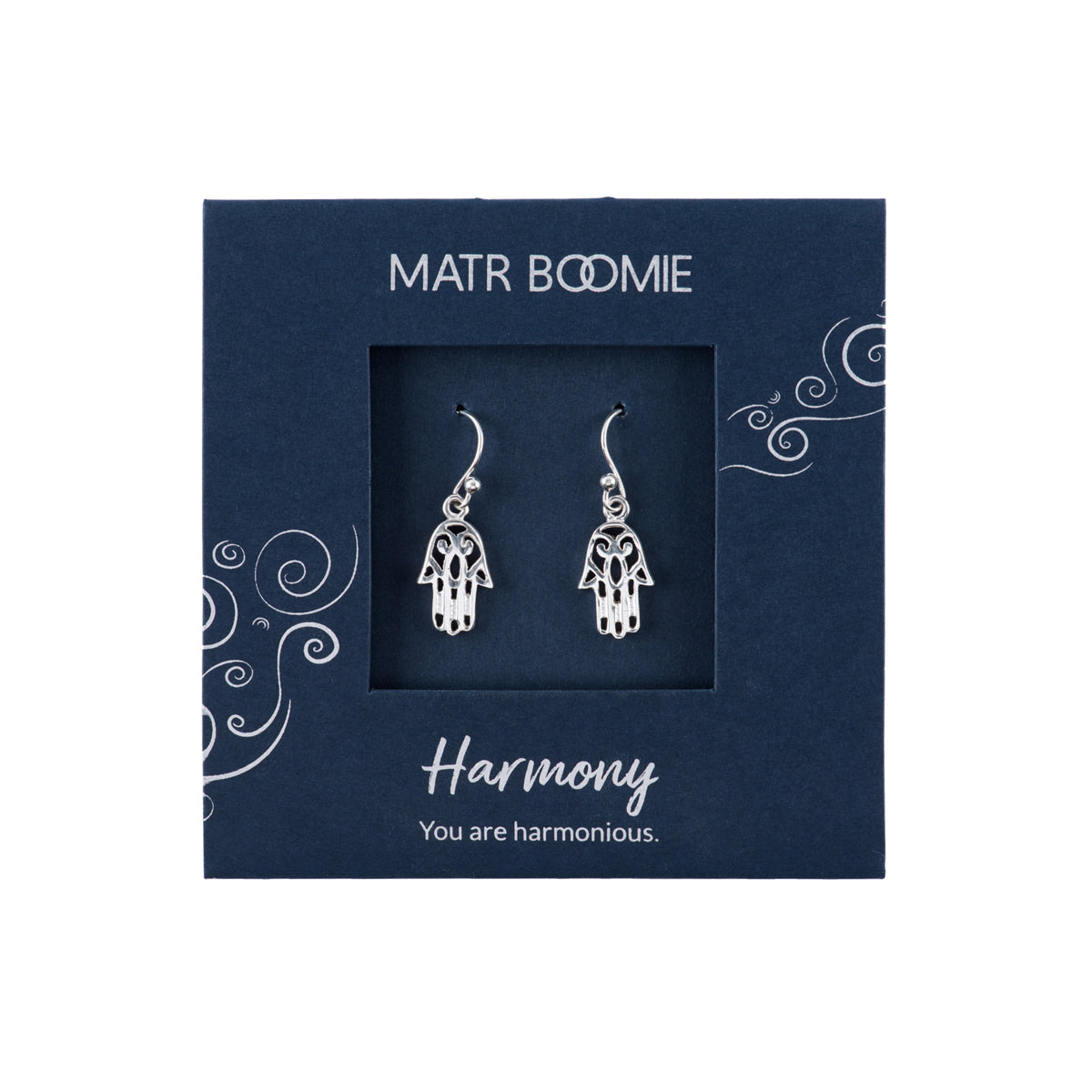 Shanasa Sterling Silver Earrings - Harmony