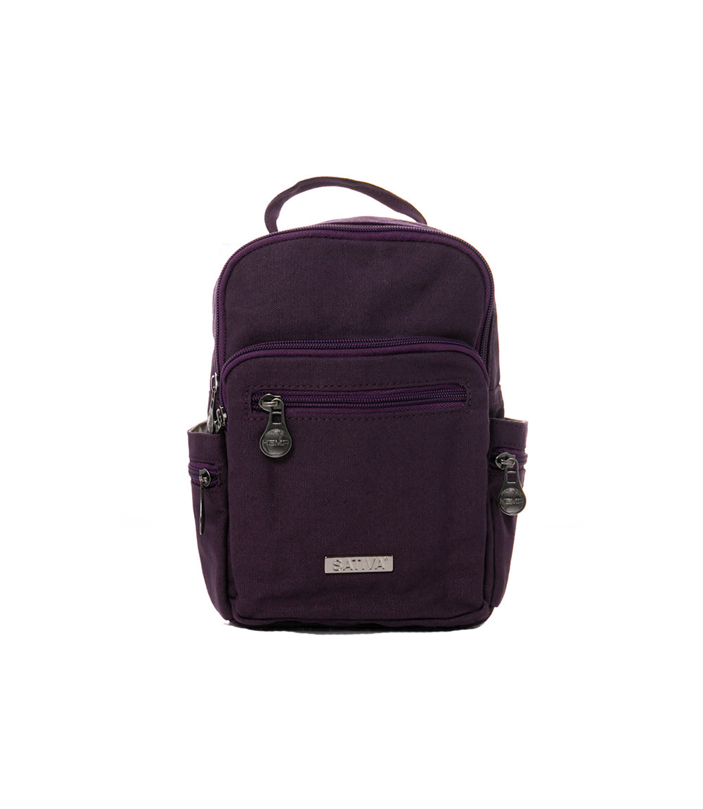 Compact Trio Backpack - Hemp & Organic Cotton