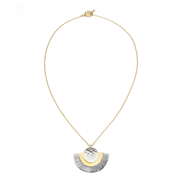 Vitana Cosmos Necklace - Grey