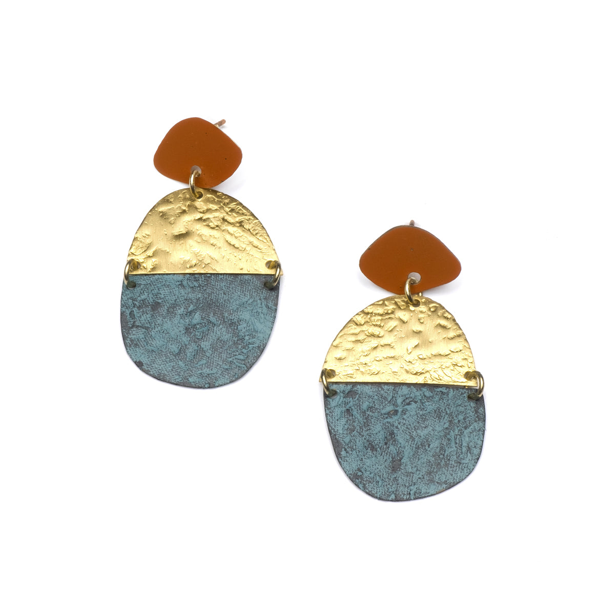 Nihira Earrings - Multi Medallion