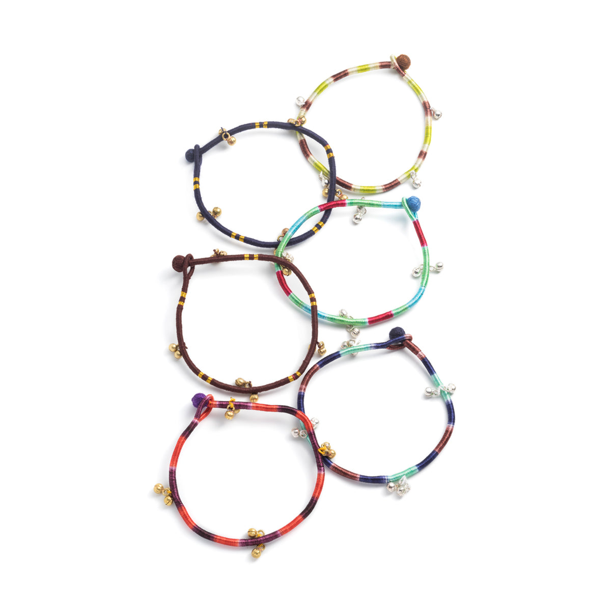 Cotton Chum-Chum Anklet - Pack of 6