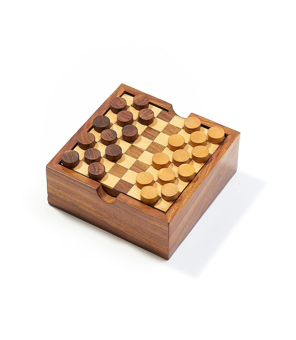 Rosewood 2-in-1 Game Set