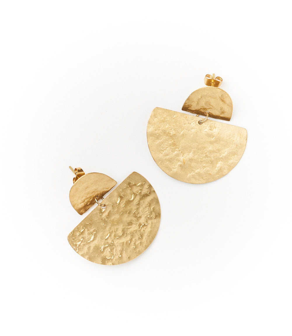 Jayanti Earrings- Gold Stud