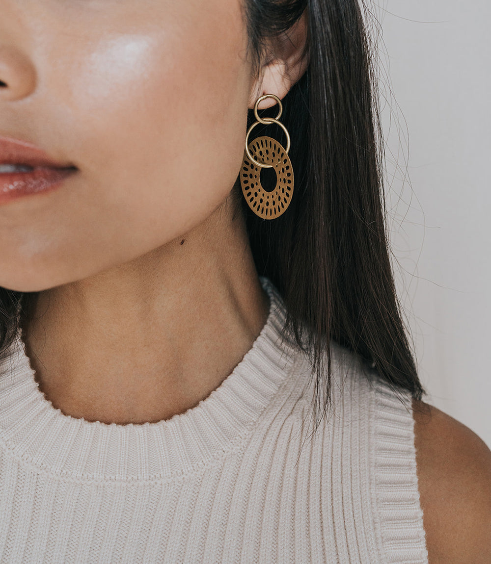 Abhaya Earrings - Casade