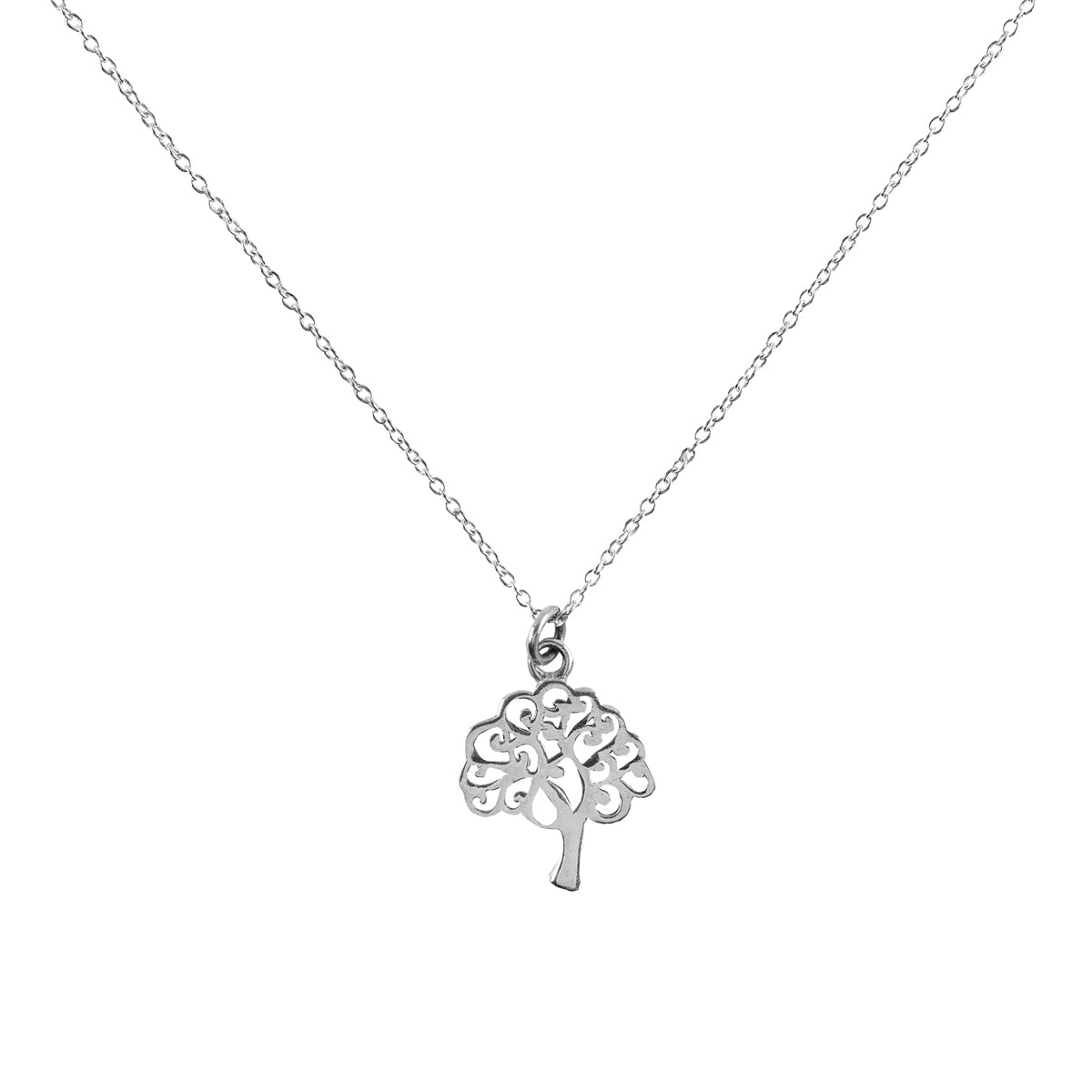 Shanasa Sterling Silver Necklace - Abundance