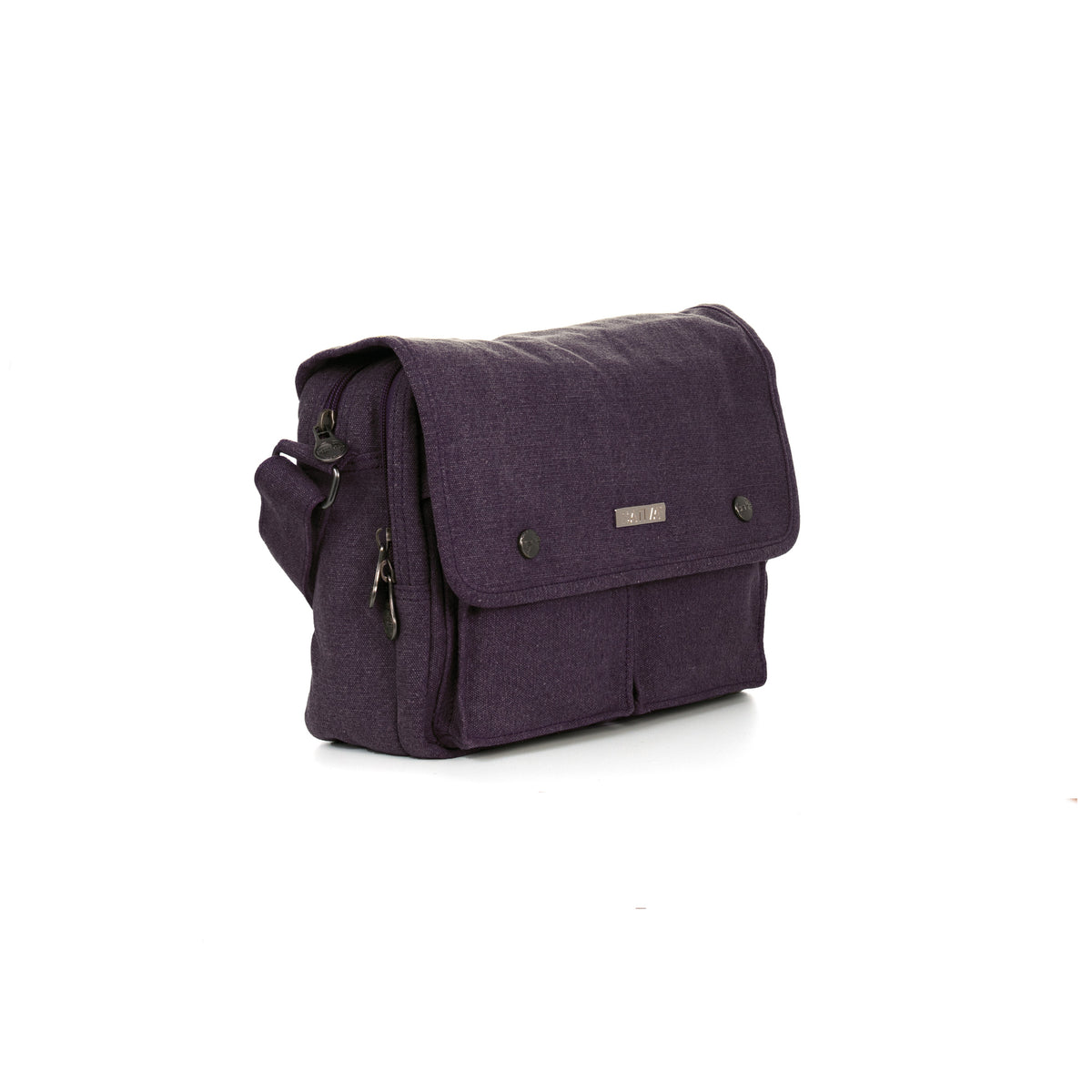 Harlowe - Hemp & Organic Cotton Shoulder Bag - by Sativa