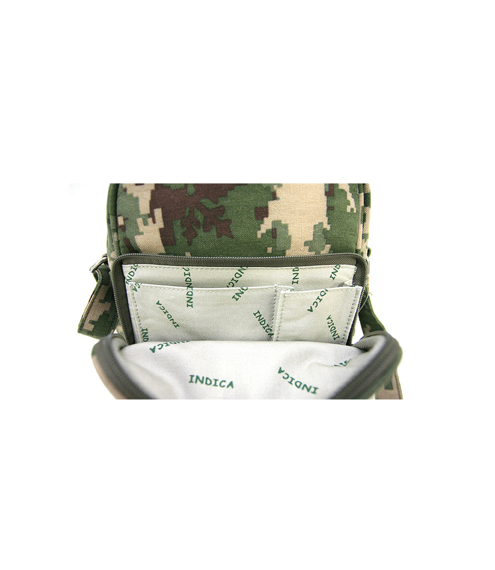 Ever Day - Hemp & Organic Cotton Bag, Indica Jungle Style