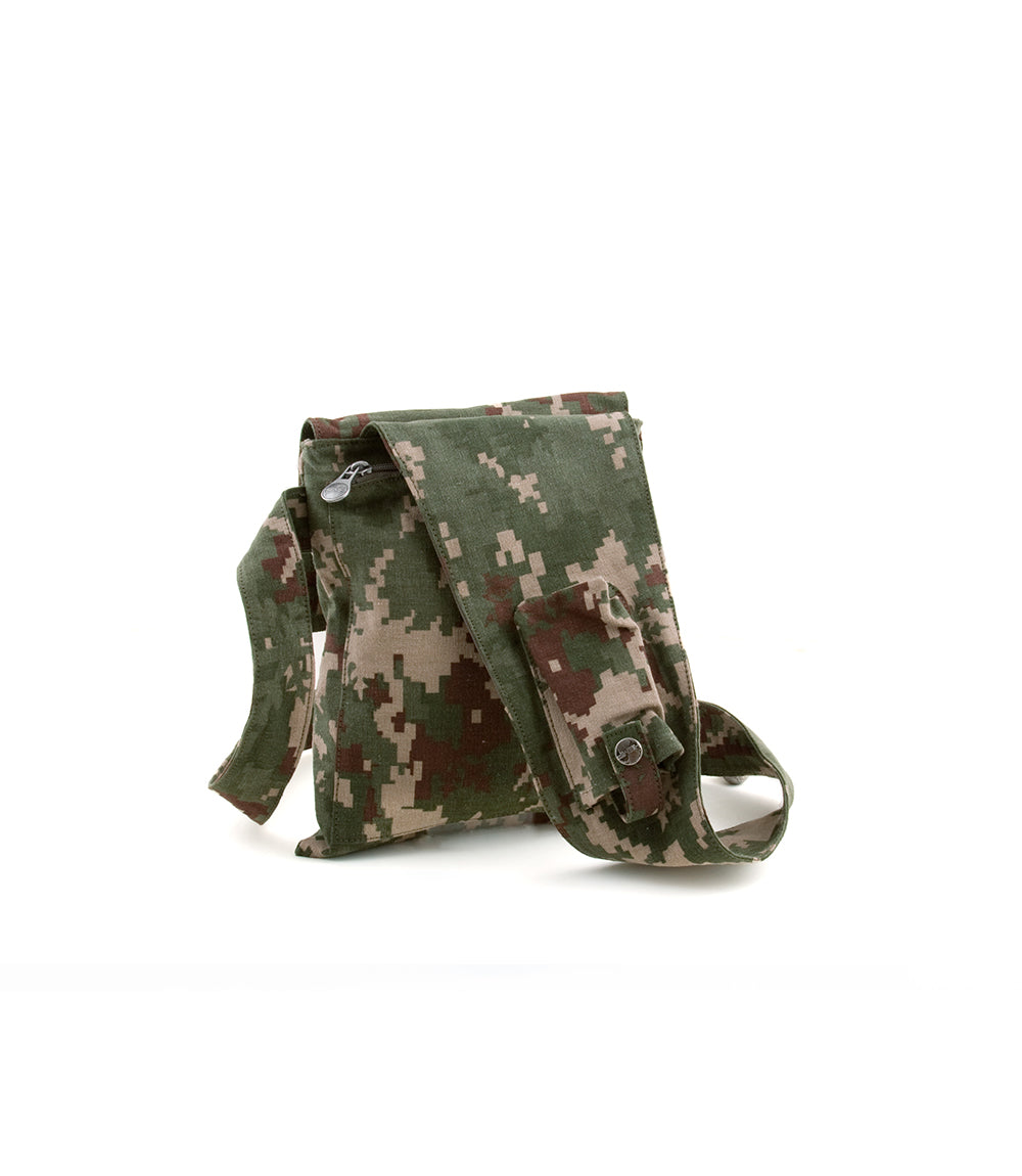 Hipster - Hemp & Organic Cotton Bag, Indica Jungle Style