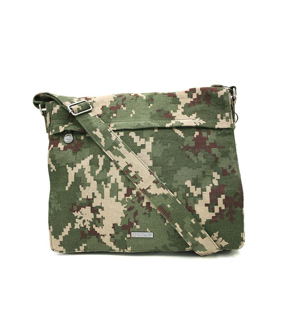 Savannah - Hemp & Organic Cotton Bag, Indica Jungle Style