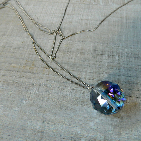 Rainbow Light Catcher Necklace