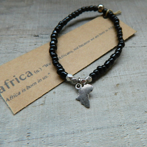 Lucky Charm Collection: Africa Bracelet
