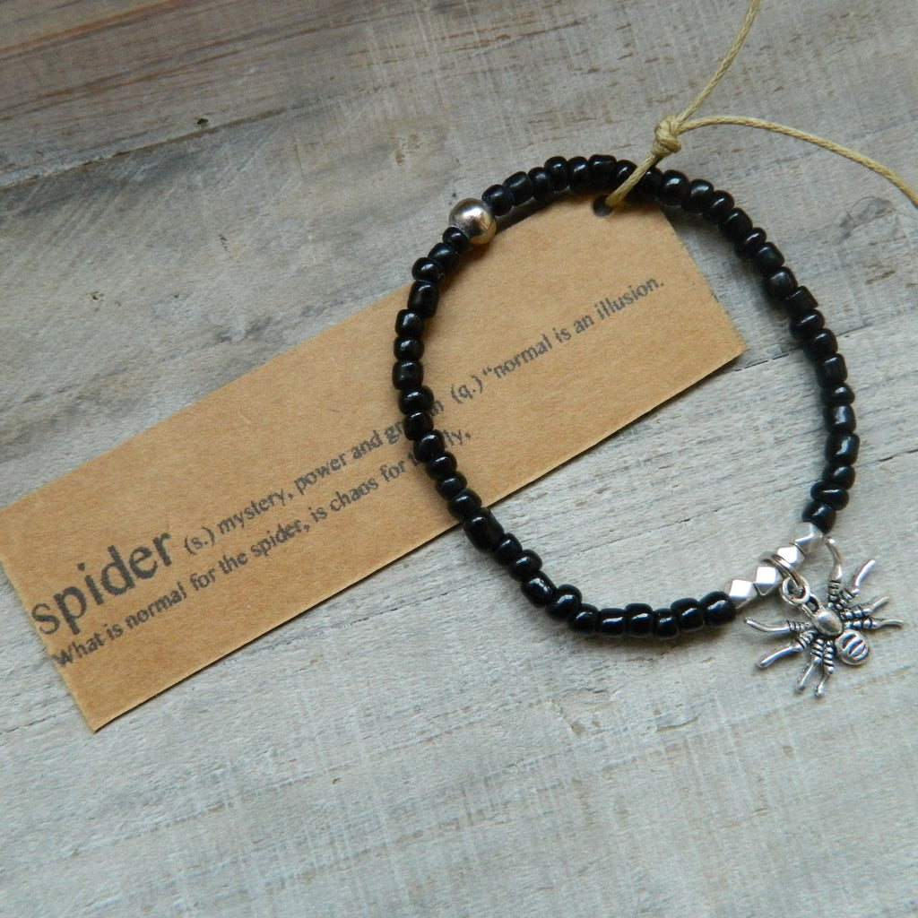 Lucky Charm Collection: Spider Bracelet