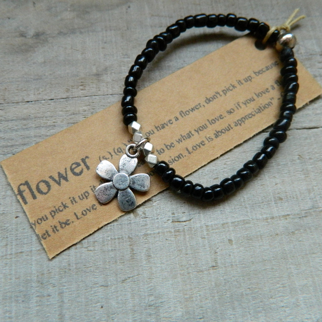 Lucky Charm Collection: Flower Bracelet