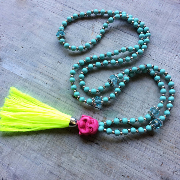 Happy Buddha Mala Beads: Princess