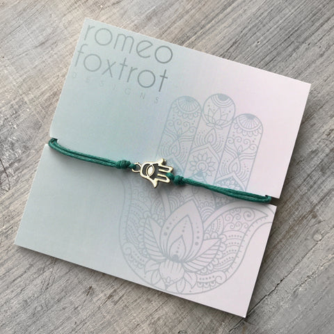 Little Wish Bracelet: Hamsa