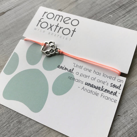 Little Wish Bracelet: Paw