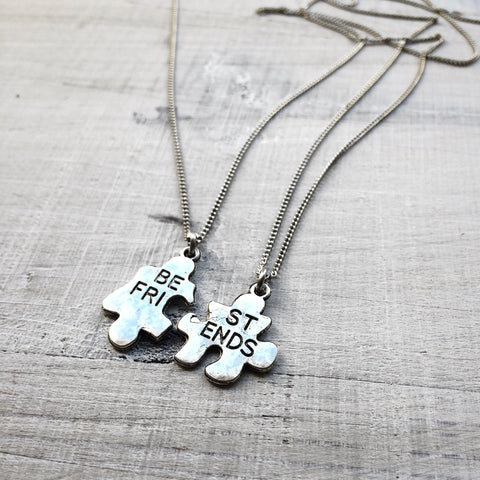 Puzzle BFF Necklace