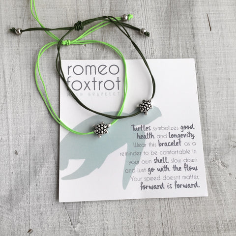 Little Wish Bracelet: Turtle