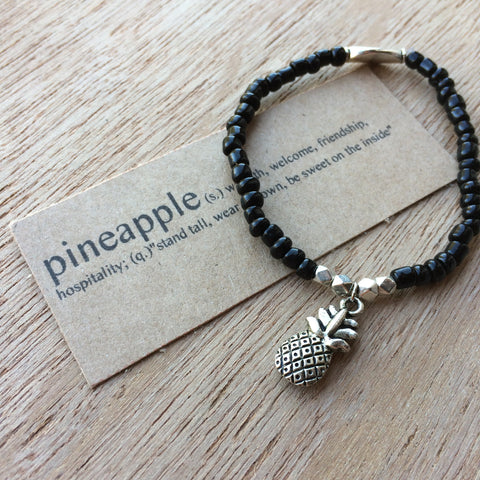 Lucky Charm Collection: Pineapple Bracelet