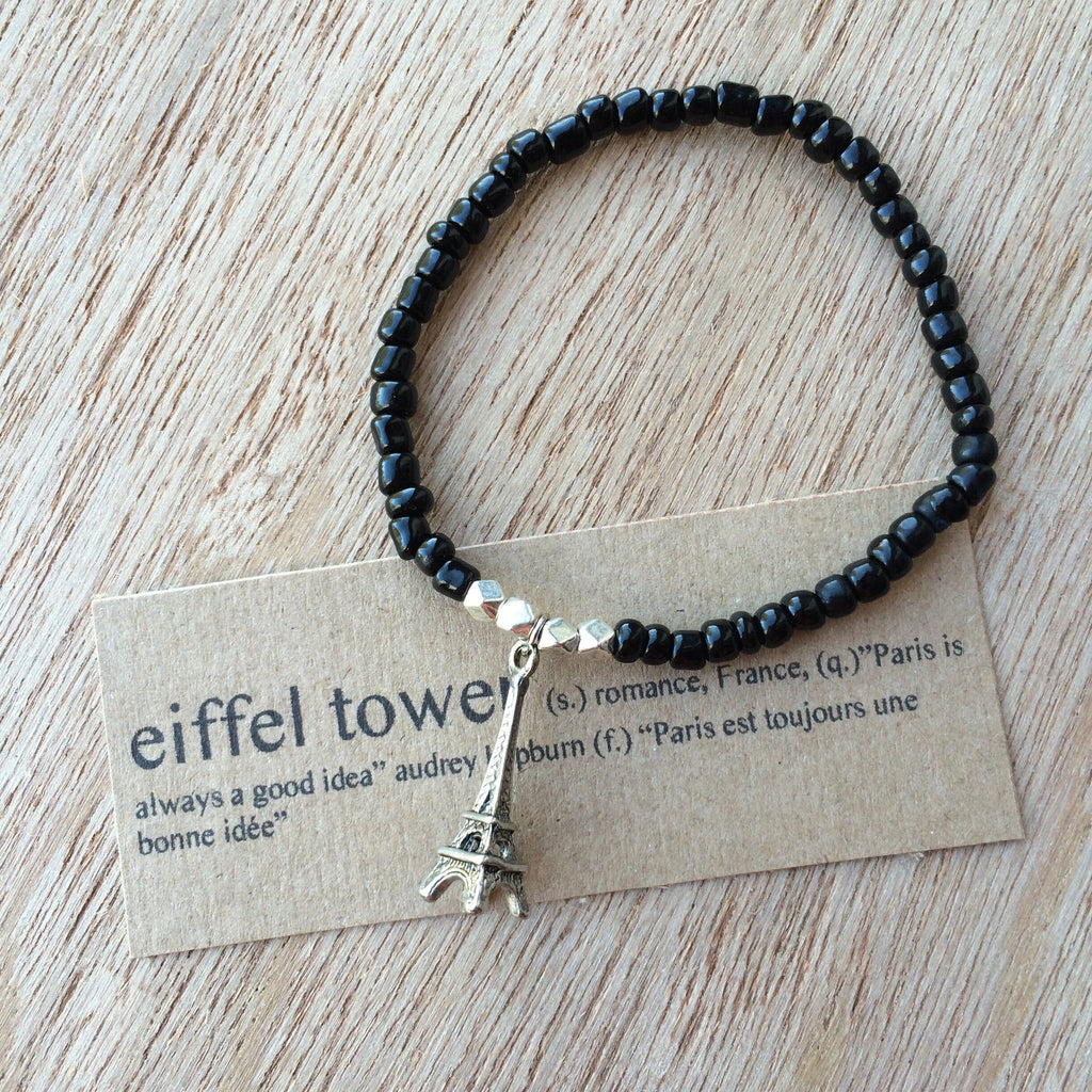 Lucky Charm Collection: Eiffel Tower Bracelet