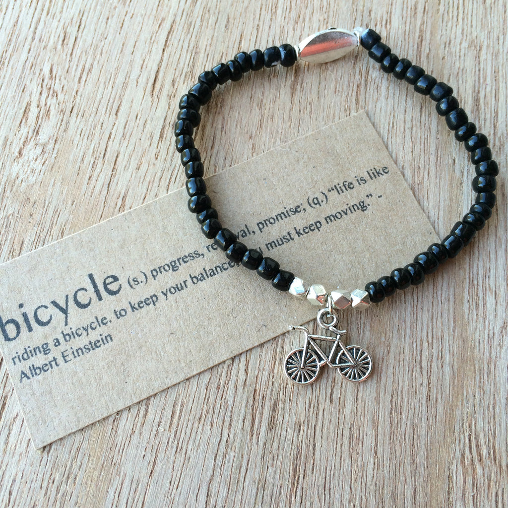Lucky Charm Collection: Bicycle Bracelet