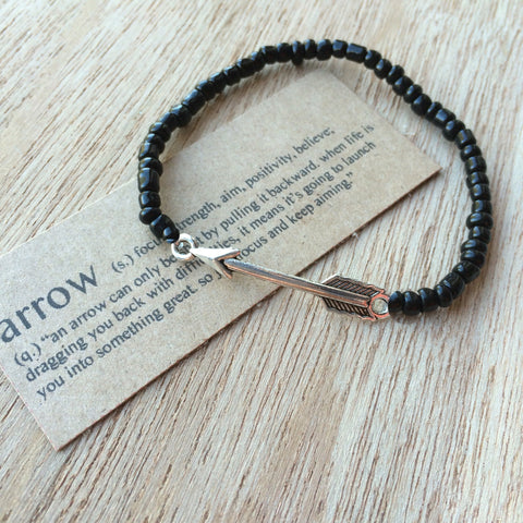 Lucky Charm Collection: Arrow Bracelet