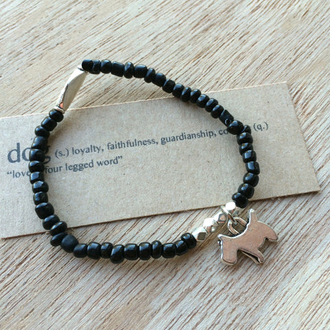 Lucky Charm Collection: Dog Bracelet