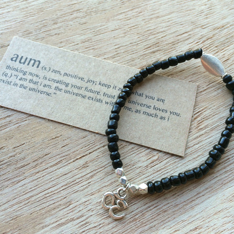 Lucky Charm Collection: Aum Bracelet
