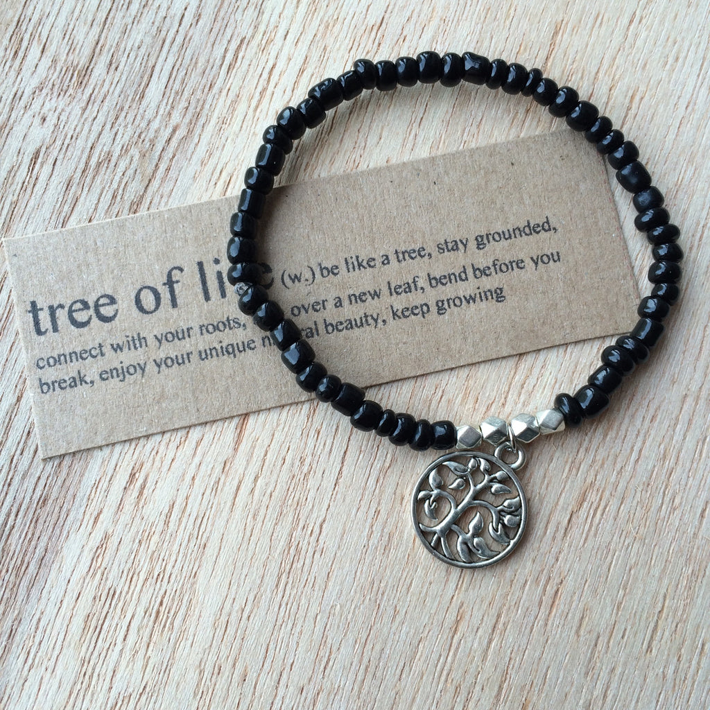 Lucky Charm Collection: Tree of Life Bracelet