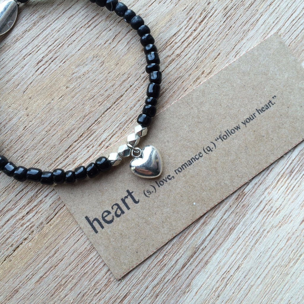 Lucky Charm Collection: Heart Bracelet