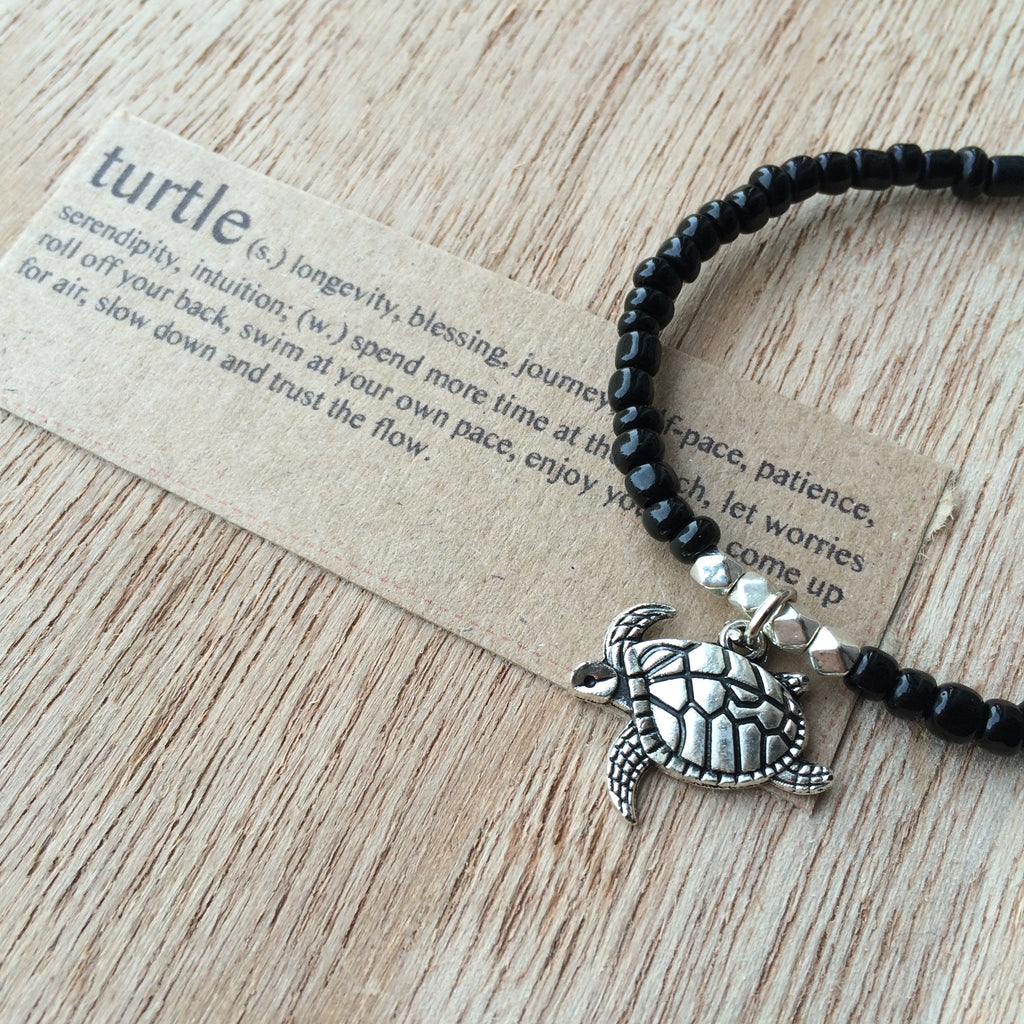 Lucky Charm Collection: Turtle Bracelet