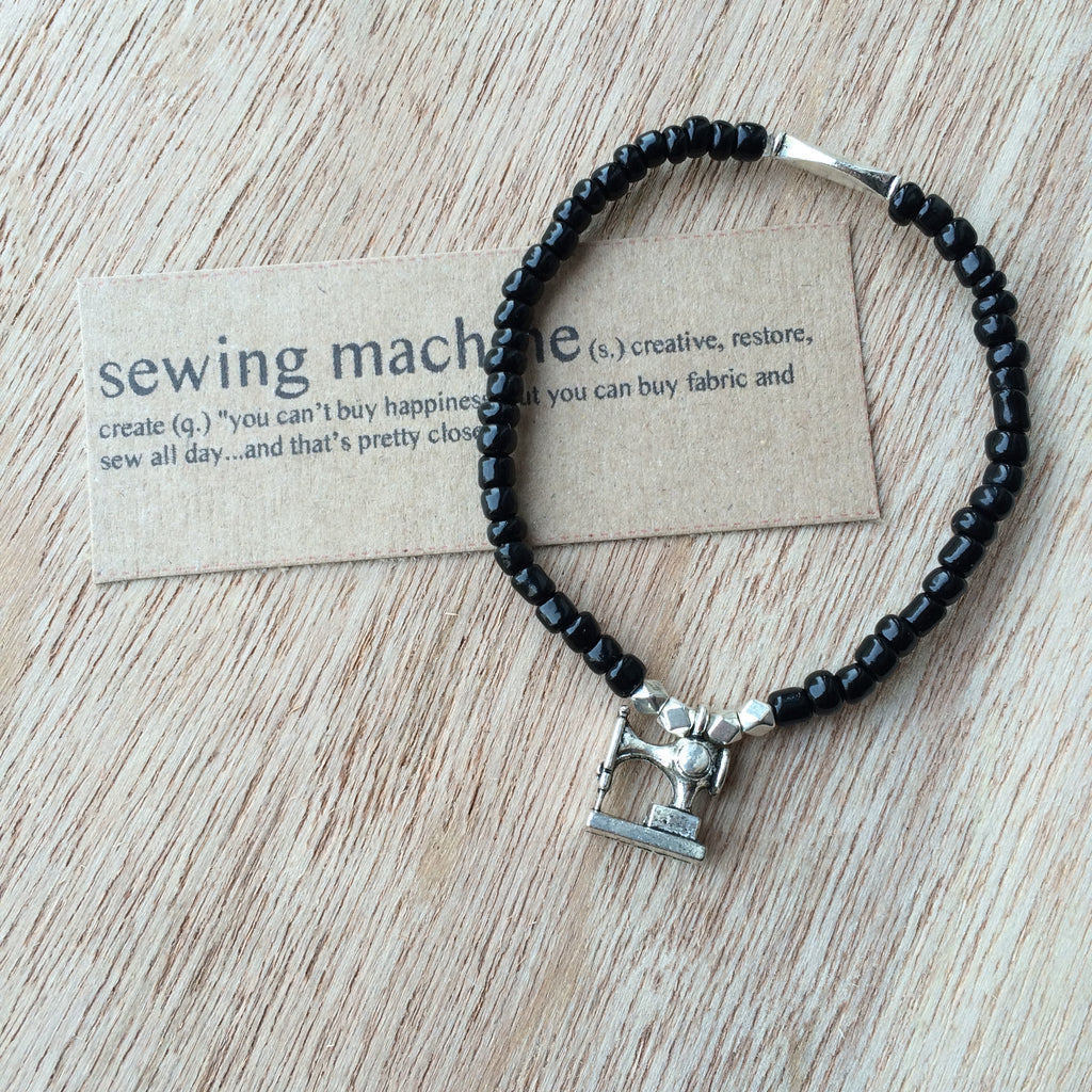 Lucky Charm Collection: Sewing Machine Bracelet