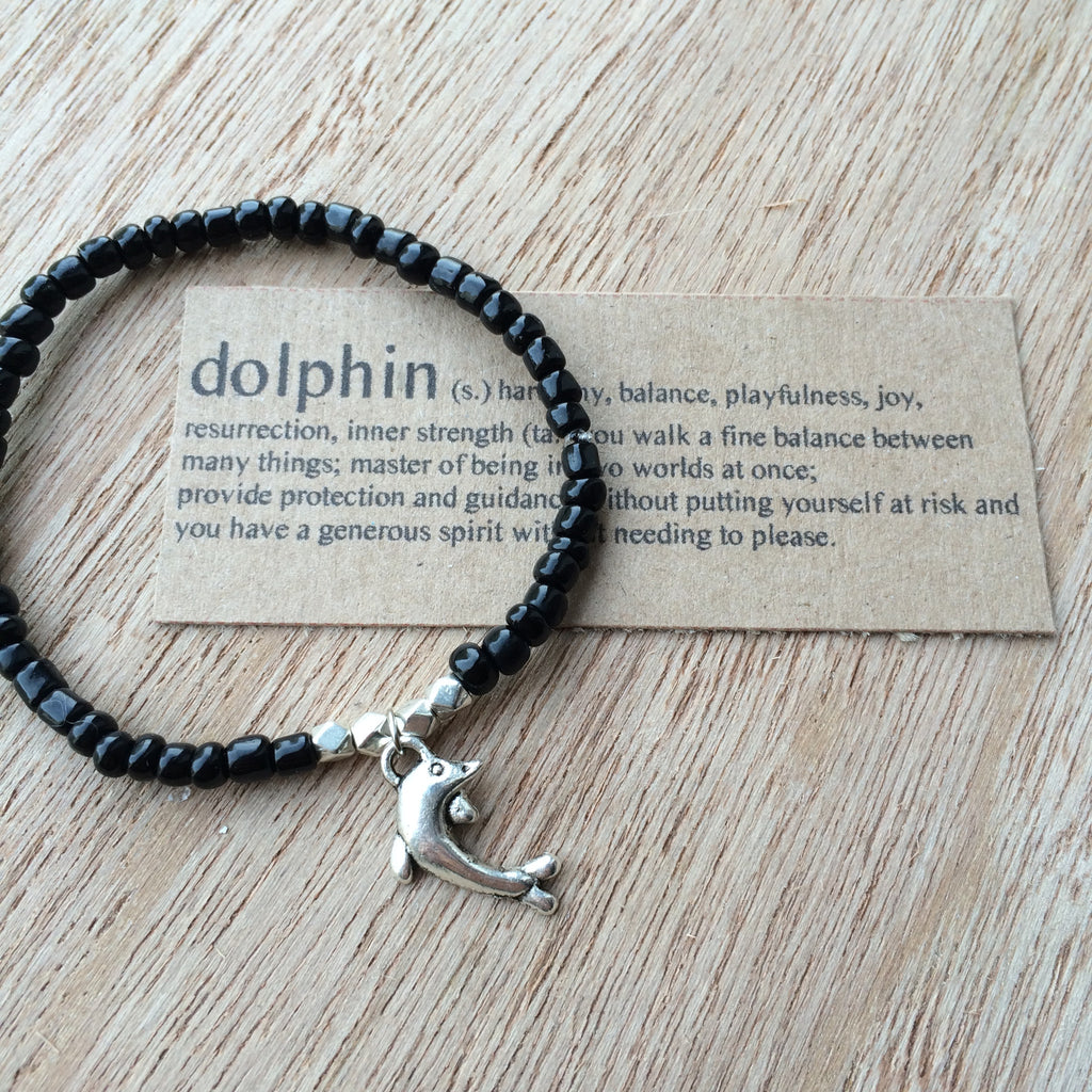 Lucky Charm Collection: Dolphin Bracelet