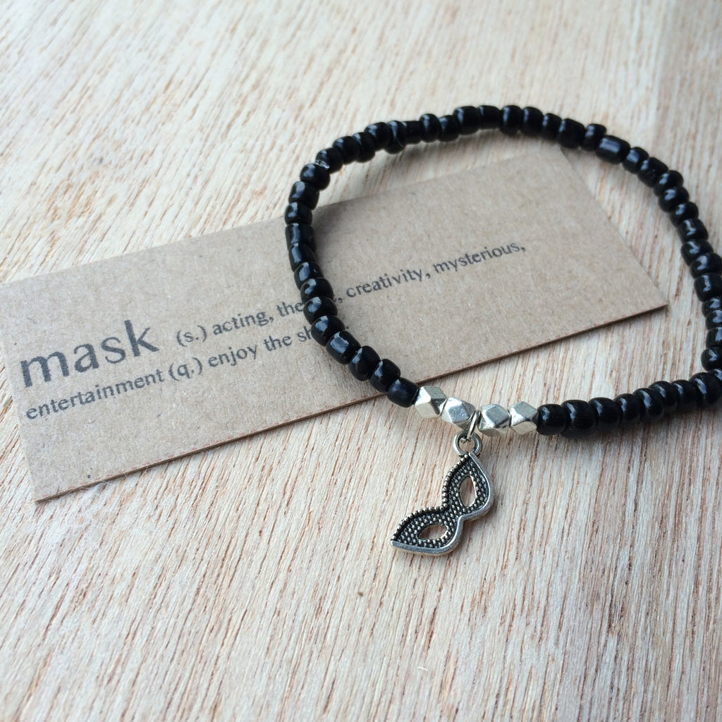 Lucky Charm Collection: Mask Bracelet