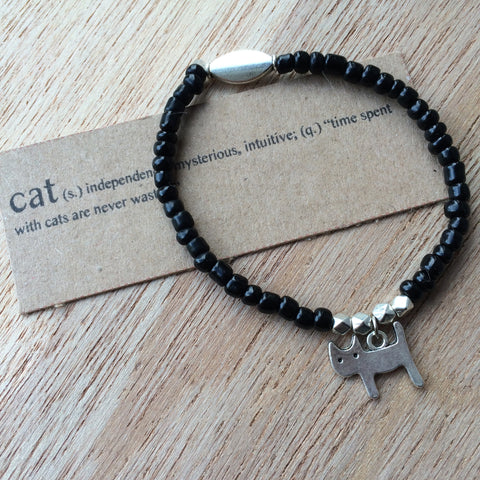 Lucky Charm Collection: Cat Bracelet