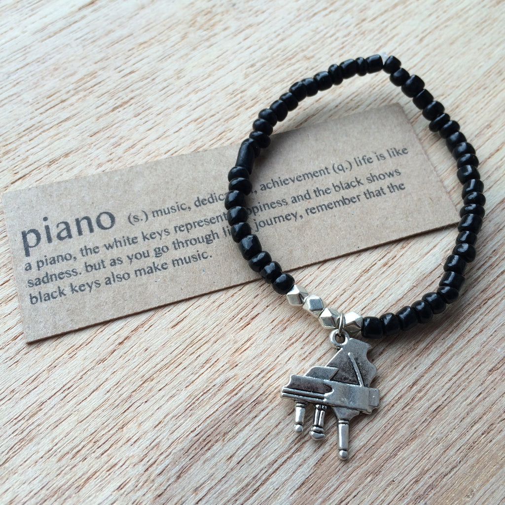 Lucky Charm Collection: Piano Bracelet