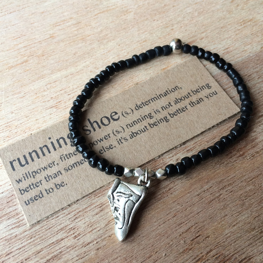Lucky Charm Collection: Running Shoe Bracelet