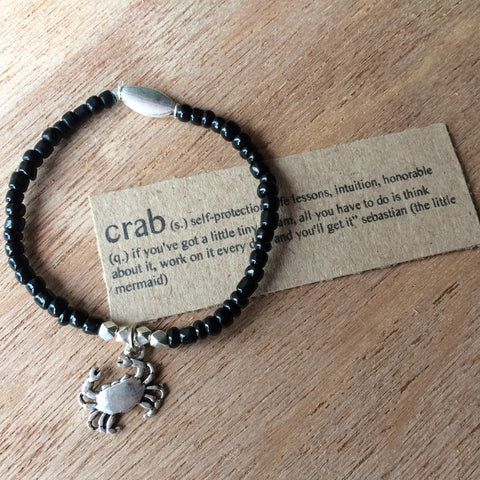 Lucky Charm Collection: Crab Bracelet