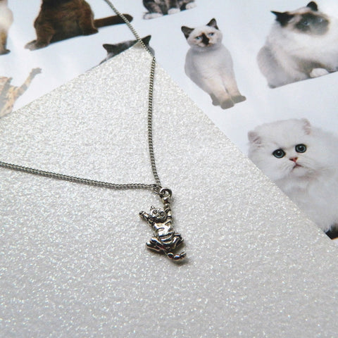 Naughty Kitty Necklace