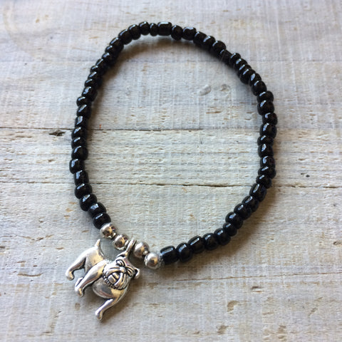 Lucky Charm Collection: Bulldog Bracelet