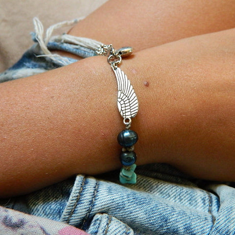 Boho Angel Wing Bracelet