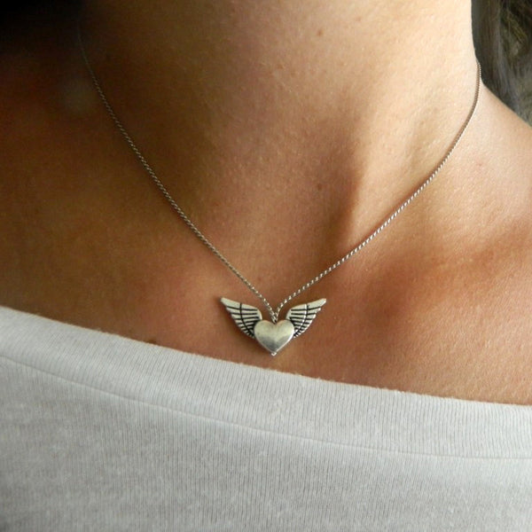 Wild Heart Necklace (Medium)