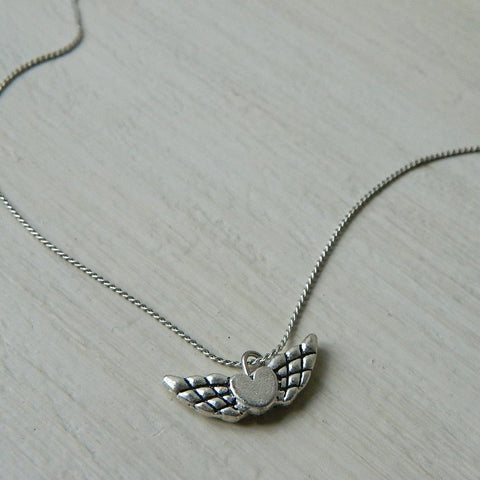 Floating Wild Heart Necklace